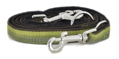 Kennel Dog Leash grön 200cm